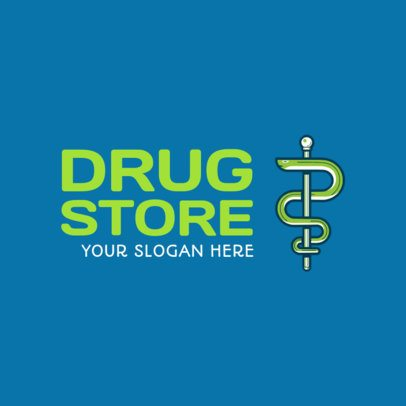 Pharmacy Logo Maker 1157c