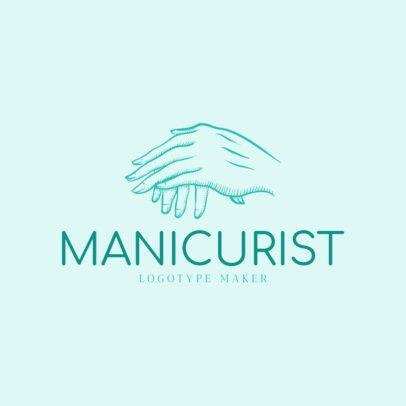 Online Logo Maker for Manicure Spas 1163d