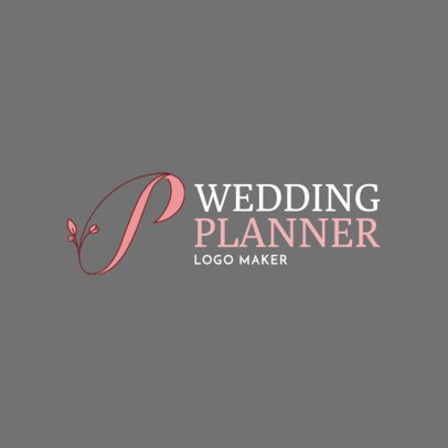 Online Logo Maker for Wedding Planners 1138e