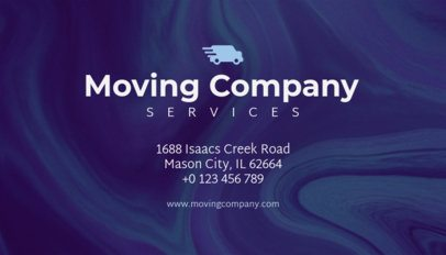 Business Card Maker for Moving Companies 202a