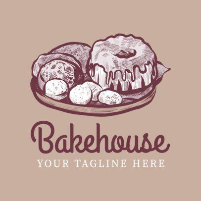 Logo Maker for Bakehouse Logo Designs 1133b