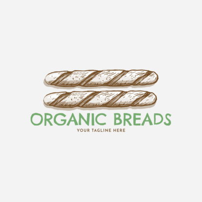 Bread Logo Maker 1133c