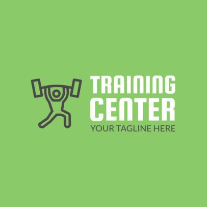 Online Logo Maker for a Fitness Training Center 1080d