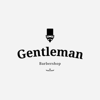 Logo Maker for Barber Shop Logo Designs 1119c