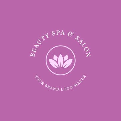 Beauty Spa Logo Maker 1145c