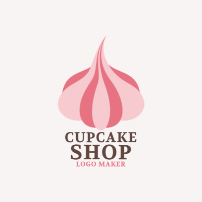 Logo Maker for Cupcake Shops 1131b