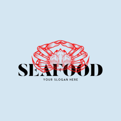 Online Logo Maker for a Seafood Restaurant 973c
