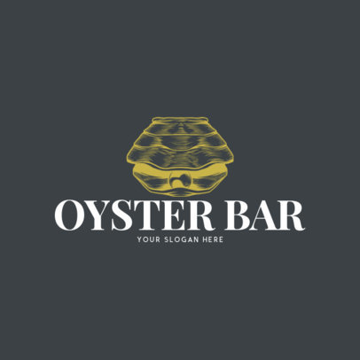 Online Logo Maker for an Oyster Bar Restaurant 973d