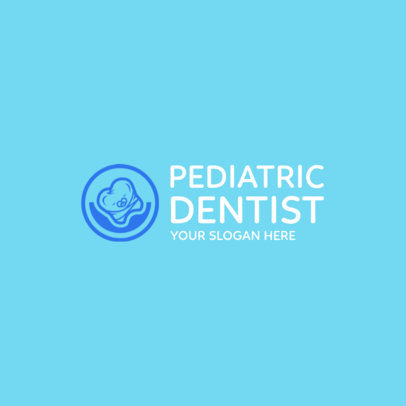 Online Logo Maker for Pediatric Dentists 1026a