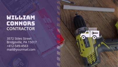 Builder Business Card Maker 230e