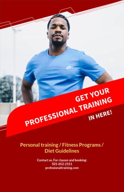 Online Flyer Maker for Fitness Programs 106a