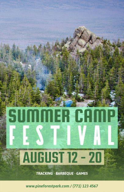 Online Flyer Maker for a Summer Festival 222a