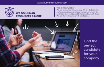 Online Flyer Maker for Human Resources  229c