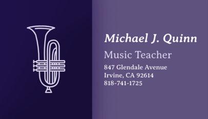 Placeit music producer business card maker music business card maker colourmoves