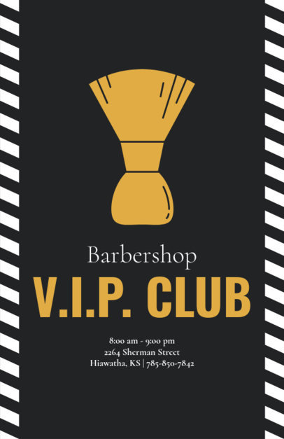 Flyer Maker for Men's VIP Club 214a