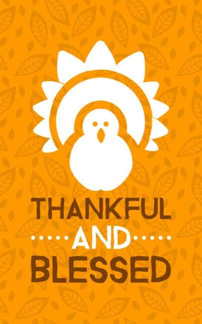 Thanksgiving T-Shirt Design Maker 625b