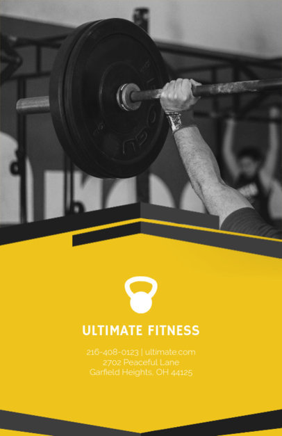 Fitness Center Online Flyer Maker 92d