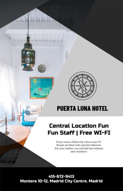 Online Flyer Maker for a Beach Hotel 216b