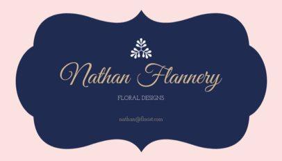 Floral Design Business Card Template 152b