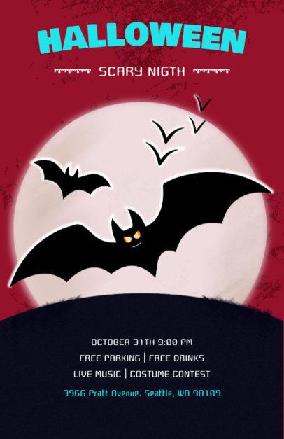 Halloween Celebration Online Flyer Maker 121d