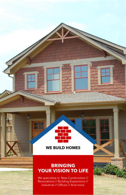 Flyer Maker for Custom Home Builders 285b