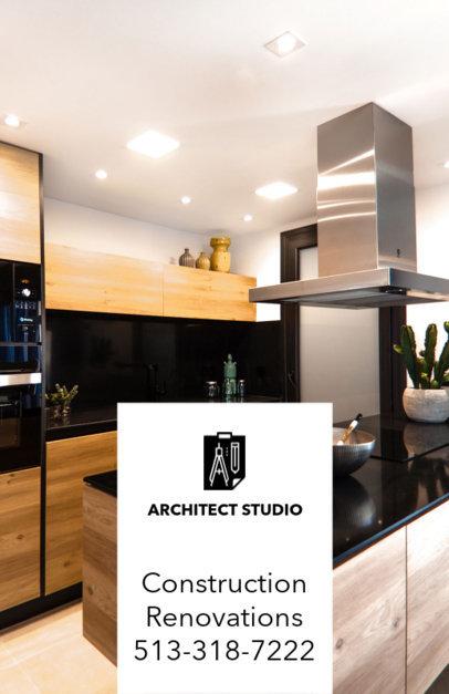 Creative Flyer Template for Architecture Studios 285e