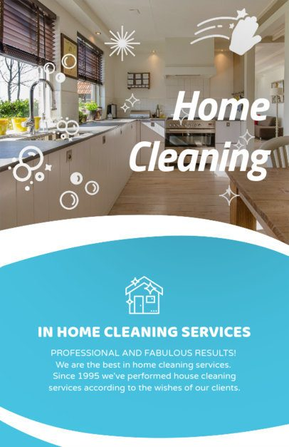 Customizable Flyer Template for Cleaning Services 283e