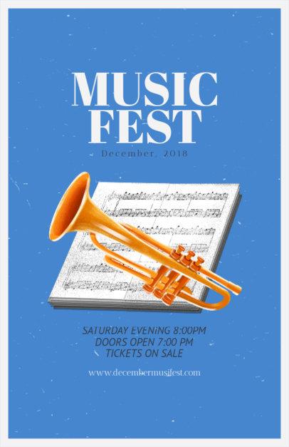 Music Festival Online Flyer Maker 192b