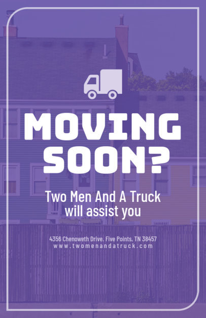 flyer maker to design a flyer for moving companies