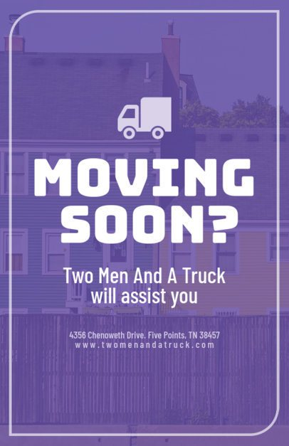 Moving Company Online Flyer Maker 220a