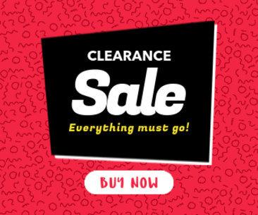 Clearance Online Banner Maker 284e