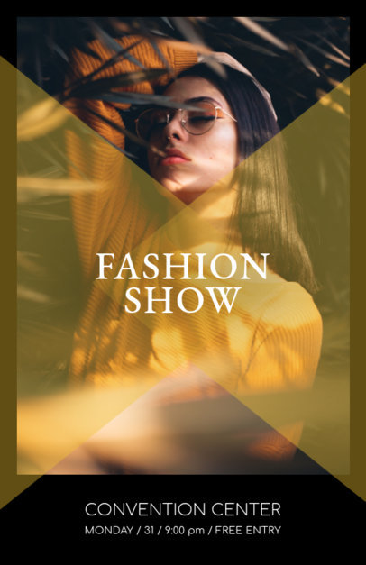 Promotional Online Flyer Maker for Fashion Shows 167c