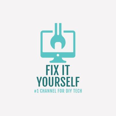 Electronics Repair Logo Maker 1252