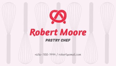 Pastry Business Card Maker 122e
