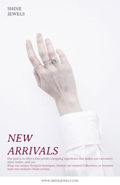 Jewelry Online Flyer Maker 304a