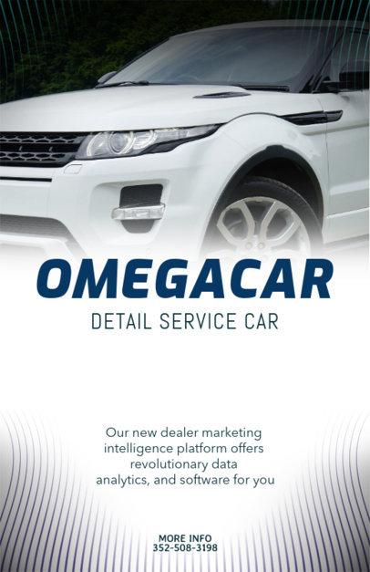 Car Online Flyer Maker 313b