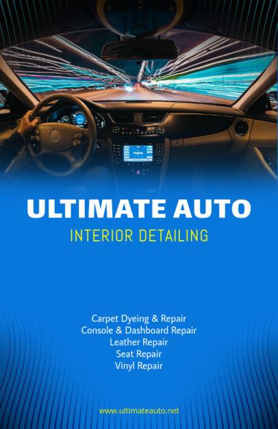 Online Flyer Maker for Car Detailing 313e