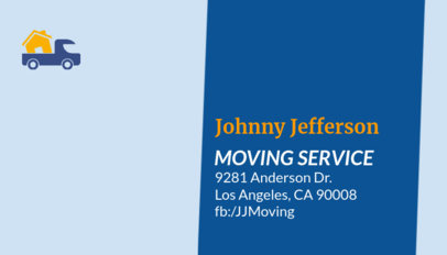 Business Card Maker for International Moving Companies 325e