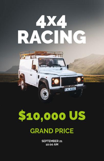 Online Flyer Maker for Racing Cars 277c