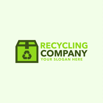 Logo Maker for Recycling Companies 1255