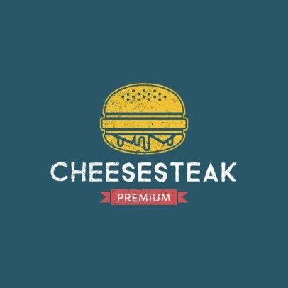 Burger Restaurant Logo Maker 1227c
