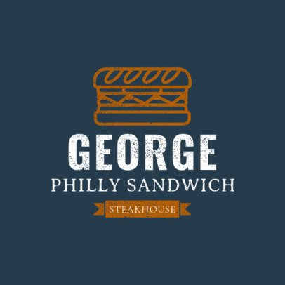 Sandwich Restaurant Logo Maker 1227e