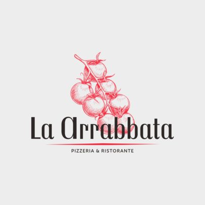 Logo Design Tool for Pizza Restaurant with Chef Illustrations 1178c
