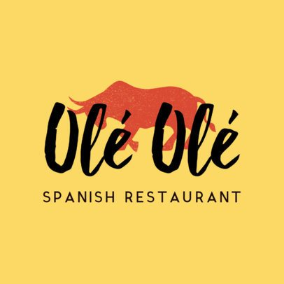 Restaurant Logo Maker for Tapas Restaurant 1223b