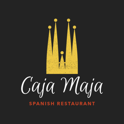 Restaurant Logo Maker for Barcelona's Tapas Restaurant 1223e
