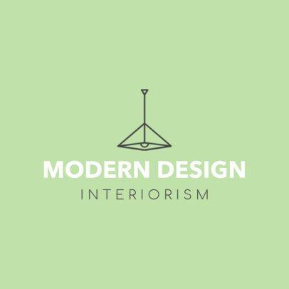 Custom Logo Maker for an Interior Designer 1209b
