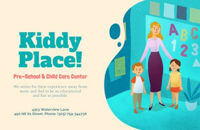 Online Flyer Maker for Child Care Centers 315a