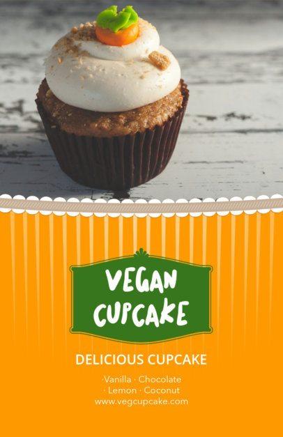 Flyer Maker for Vegan Cupcake Shops 379b