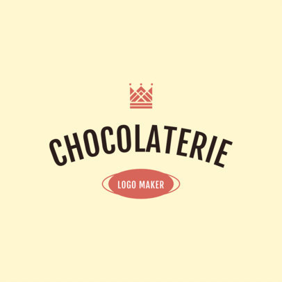 Chocolate Brand Logo Maker 1216