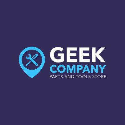 Online Logo Maker for Computer Repair Shops 1252c